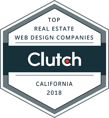 Clutch Award - Top Real Estate Web Design Companies (California 2018)