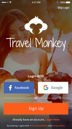 Travel Monkey App